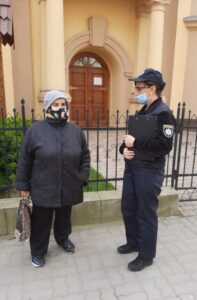 beregszász koronavírus rendőr