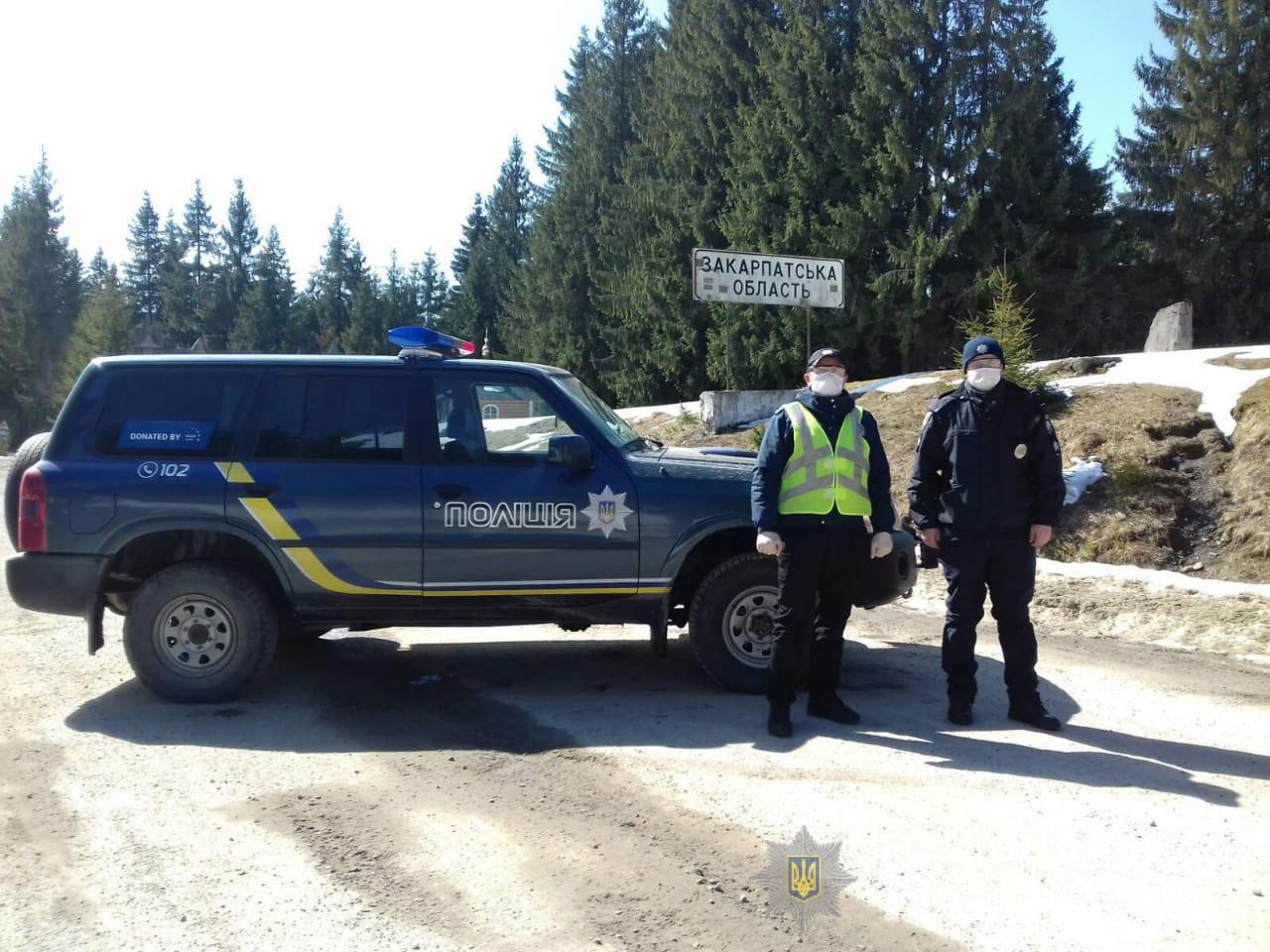 ellenörzőpont ukrán rendőrség hágó megyehatár