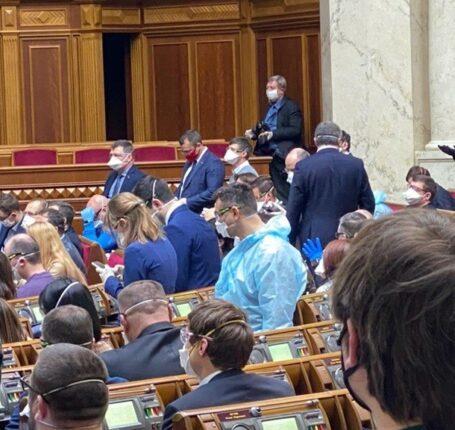 kijev korona parlamnet