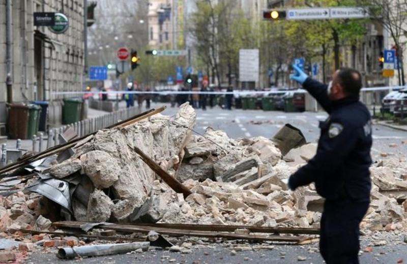 zágráb korona földrengés