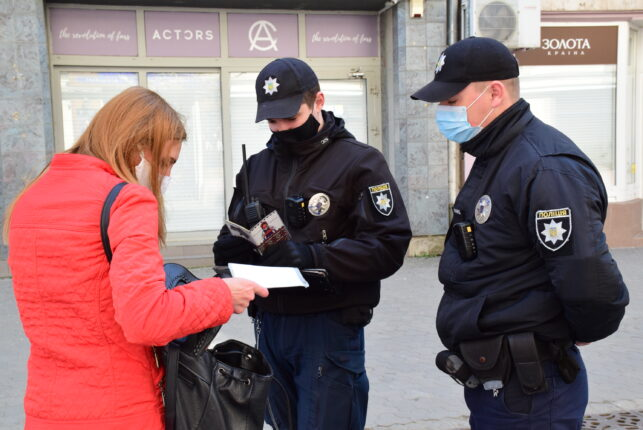rendőrség karantén koronavírus igazoltatás bűnözés