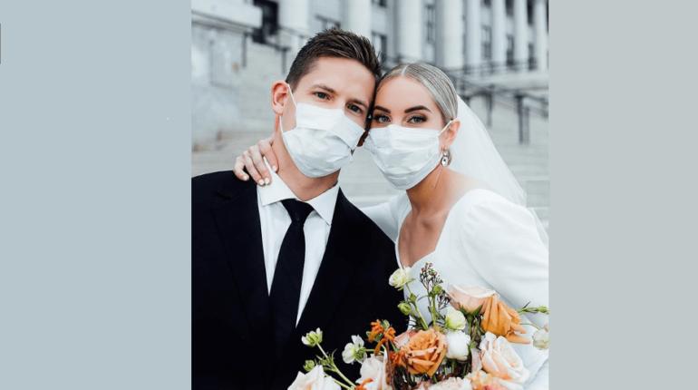 esküvő karantén koronavírus férj feleség esküvő