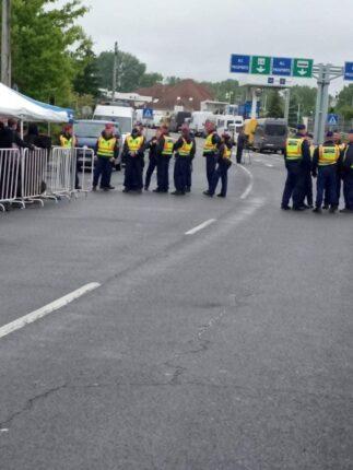záhony határ blokád