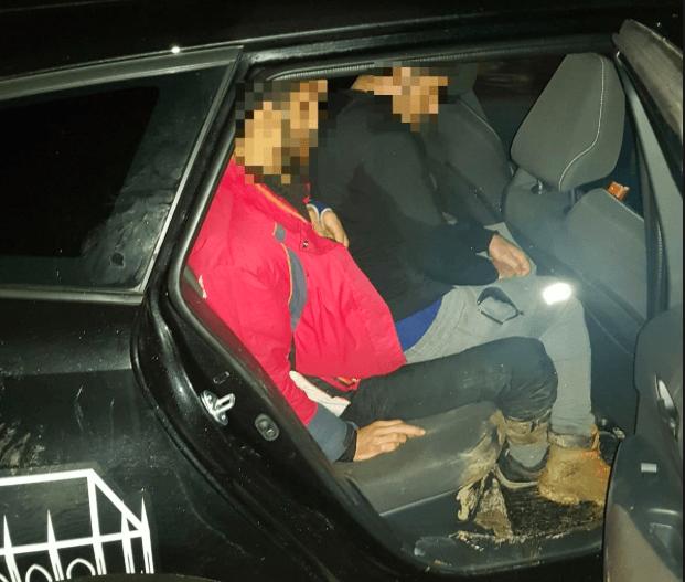 embercsempészet ukrán magyar határ