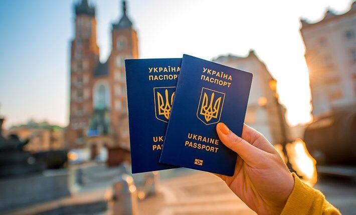 ukrán turista európa