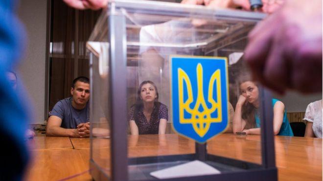 választások ukrajnában 2020