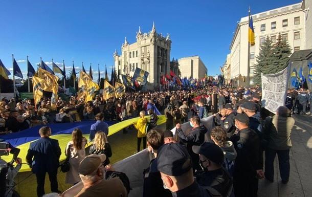 """Antiszemita jelszavakkal, Zelenszkij gyalázásával """"ünnepelt"""" a szélsőjobb"""