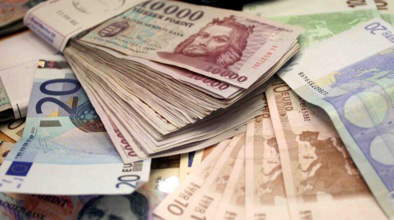 hrivnya euro forint