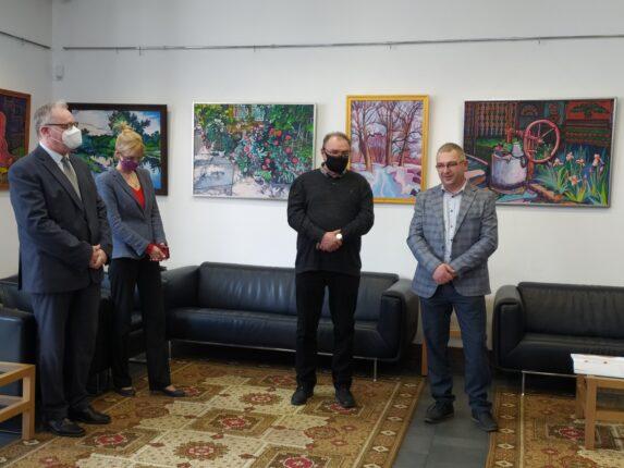 Homoki Gábor egyéni kiállítása Ungváron, a főkonzulátuson