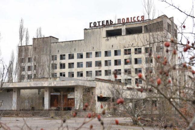 csernobil hotel