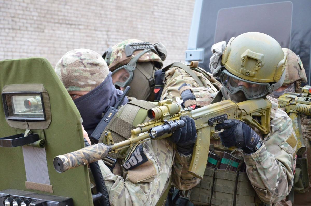 SBU terror action