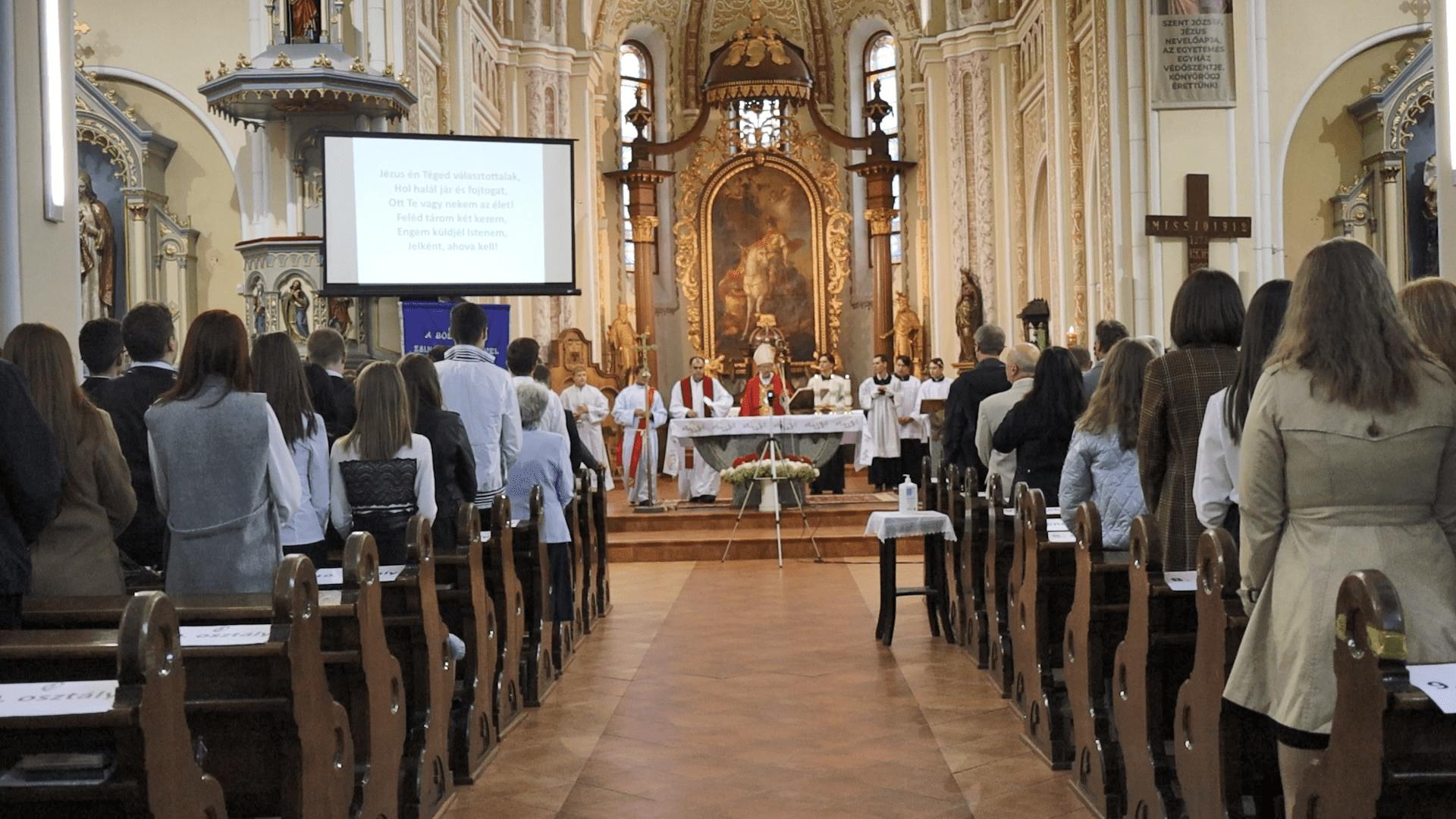 Munkácsi Szent István Líceum ünnepsége