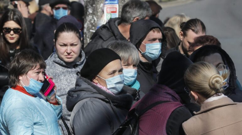 Ukraine covid stop carantin